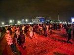O público não ligou para a lama e curtiu o Lollapalooza Brasil