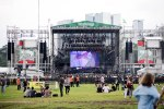 Vista de um dos palcos pelo palco perry
