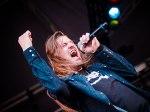A banda República no palco do Lollapalooza Brasil
