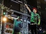 Marcelo D2 e BNegão não deixaram pedra sobre pedra no festival Lollapalooza