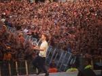 O show do Kaiser Chiefs foi energético e o vocalista Ricky Wilson não media esforços para agitar o público, que vibrou com o hit Ruby
